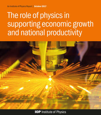 The Role of Physics in Supporting Economic Growth and National Productivity