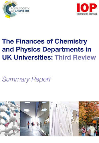 Cover image for Finances of Chemistry and Physics Departments in UK Universities report