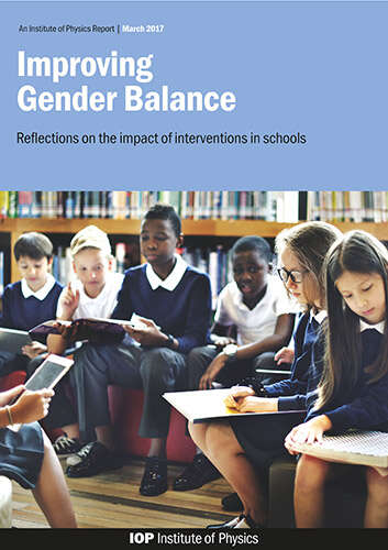 Cover image for Improving Gender Balance report