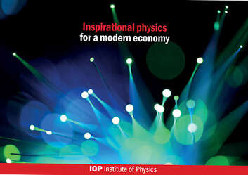 Cover image for Inspirational physics for a modern economy report