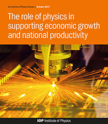 Cover image for The role of physics in supporting economic growth and national productivity report