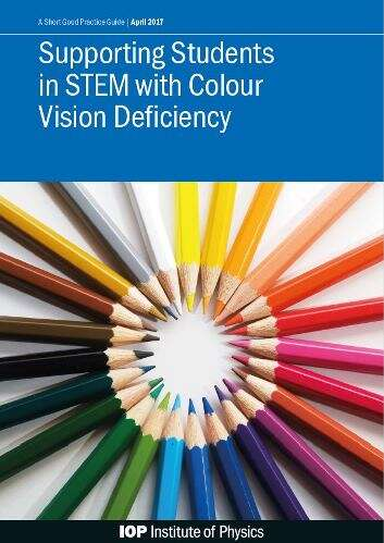 Cover of booklet on how to support students who have colour vision deficiency.