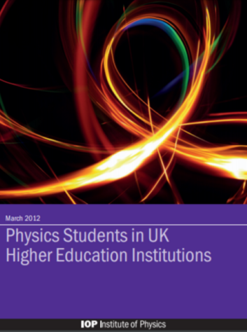 Physics Students in UK Higher Education Institutions cover