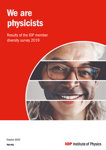 We are physicists. Results of the IOP member diversity study 2019.