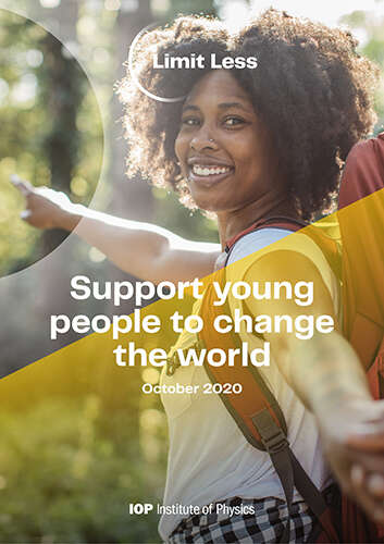 Support young people to change the world. October 2020.