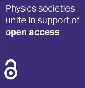 Physics societies unite in support of open access logo